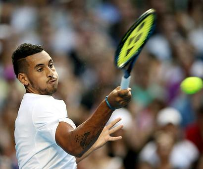 Kyrgios finally beginning to look like the real deal