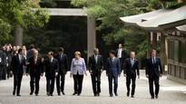 G7 pledges to combat 'weak' global growth, expresses concern over North Korea, Russia and China