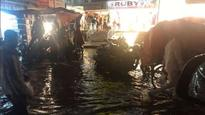 Heavy rains halt Hyderabad; several parts of the city submerged under water