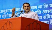Congress will not allow BJP, RSS to touch Constitution: Rahul Gandhi