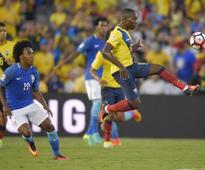 Copa America: Ecuador holds Brazil to goalless draw, Peru beat Haiti
