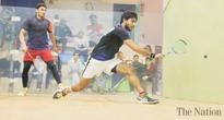 Waqas, Ali record wins in President Gold Cup Squash