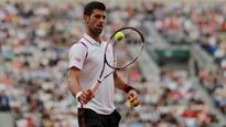 Novak Djokovic unfazed by early mistakes at French Open in Paris