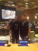Arjun Kapoor shoots at UN Headquarters in New York for Half Girlfriend!