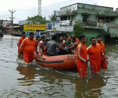 #Chennaifloods: With 1,600 people, 200 boats, NDRF launches 'most massive' relief ops