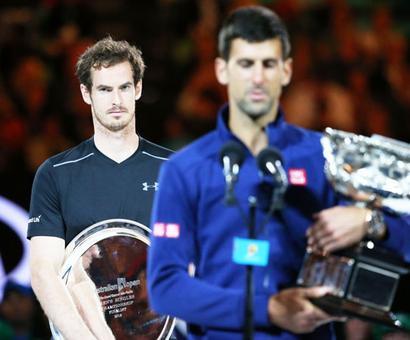 Emotionally taxed, error-prone, Murray unable to break Djokovic jinx