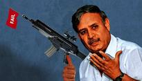Did Rao Inderjit try to push for failed Beretta guns as MoS Defence?