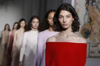 Valentino showcases ethereal haute couture collection in Paris