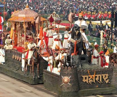 R-Day Parade: Maharashtra wins best tableau award