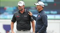 'Just an average golfer': Adam Scott, Marc Leishman leave run too late at World Cup of Golf