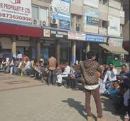 Banks opened to long queues on Monday