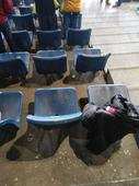 Jawaharlal Nehru Stadium at its worst; as true fans of the game, we've all been let down