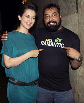 PIX: Kangana watches Raman Raghav 2.0 with Anurag Kashyap
