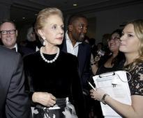 Fashion designer Carolina Herrera receives Lincoln Center honor