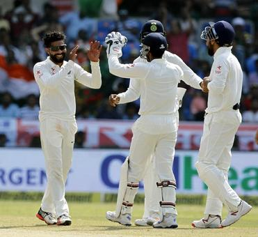 Ashwin, Jadeja shine as India crush Bangladesh
