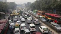 Delhi embraces car restrictions on key working day