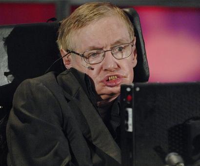 Cambridge University's flag flies at half mast for Professor Hawking