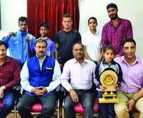 J&K bags 3 Bronze medals in 15th National Wushu C'ship IGP Lohia felicitates medalists