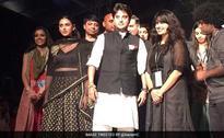 Congress's Jyotiraditya Scindia Walks The Ramp For This Cause