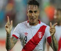 FIFA suspend Peru striker Guerrero for failing doping test