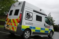 Mobile speed cameras operating in South Yorkshire