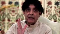 Chaudhry Nisar Ali Khan says Altaf Hussain issue a 'roadblock' in ties with UK