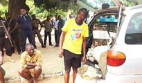 Man nabbed with 10 bags of Indian hemp