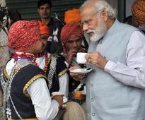 In Pics: PM Modi turns drummer, photographer in Meghalaya