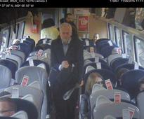 Richard Branson uses CCTV footage to accuse Jeremy Corbyn of dishonesty over his 'ram-packed' Virgin train ride