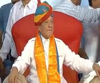 Former Congress leader Shankersinh Vaghela announces third front in Gujarat
