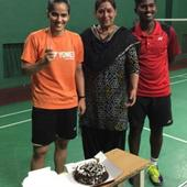 WATCH: Saina Nehwal celebrates her birthday by cutting a special cake, gets greeted by Sachin Tendulkar
