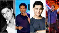 Just In: Shah Rukh Khan, Sachin Tendulkar join Aamir Khan & others at the Coldplay concert