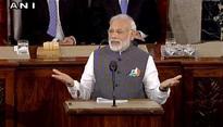 Watch: US Congress applauds PM Modis historic Capitol Hill address