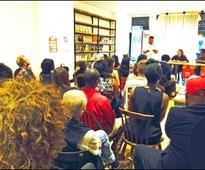 Great reception in Hackney for Chicago 'Black Lives Matter' socialist