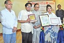 Dainik Asam Literary Award conferred on Monalisa Saikia