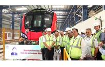 Alstom delivers first Metropolis trainset to LMRC