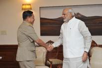 Sr. Gen. U Min Aung Hlaing, Commander-in-Chief of Myanmar Defence Services calls on PM