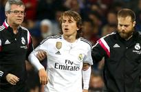 Champions League No Modric for Real Madrid against Atletico Bale may miss out too