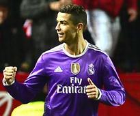 Ronaldo equals La Liga penalty record in Real...