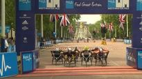 Titans of men's wheelchair racing attempt to break three minute Westminster mile record