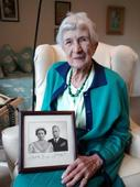 Care home resident who assisted at lung operation of King George VI celebrates turning 100