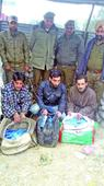 Three drug peddlers nabbed with 18,400 intoxicating capsules