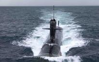 Indian Navy gets first Scorpene submarine Kalvari