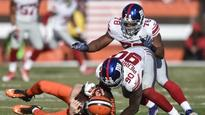 Pierre-Paul scores TD, shines as Giants beat Browns 27-13 (Yahoo Sports)