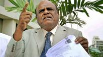 Justice Karnan rejected bailable warrant issued against him by Supreme Court