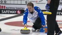 Reid Carruthers, Brad Gushue enter quarter-finals undefeated at the National
