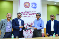 GE to build Industrial Internet Centre at IIT ... GE and IIT Madras officials at the agreement signing ceremony.  ...