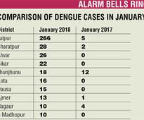 Winged menace: Despite the cold, 478 dengue cases surface; officials baffled