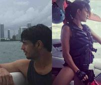 Sidharth & Jacqueline Are Chilling in Maimi and Giving Us Vacay Goals. But is it Work or All Play?
