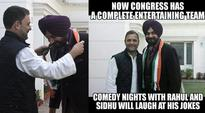 Navjot Singh Sidhu joins Congress; Twitterati laughs it out with Comedy Nights with Rahul